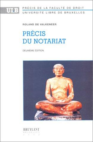 Précis du notariat