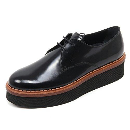 b7257-scarpa-classica-donna-tods-t50-3a-allacciata-scarpa-nero-shoe-woman-40
