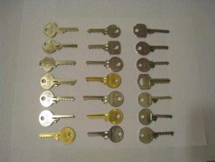 Price comparison product image Full Set - 24 Bump Keys - to fit 99% of UK door locks.