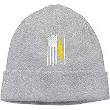 WYICPLO Fashion Baseball Caps Hats Smile More Unisex Soft Knit Caps Winter  Warm Daily Hat 8d47244679fc