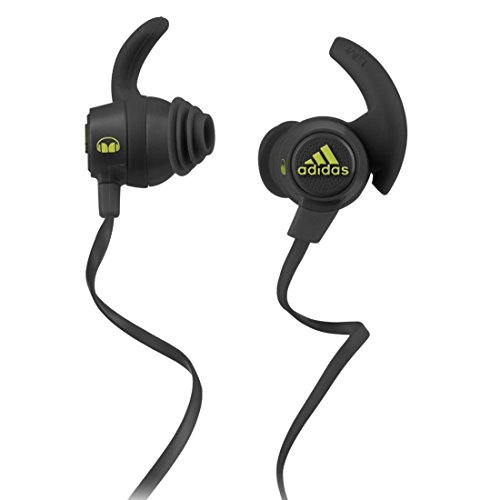 premium selection 33a49 6e98a Adidas Sport Response by Monster Earbuds - Black