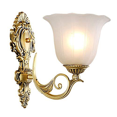 Lámpara De Pared Moderna Europea De Hierro Forjado Sala De Estar Dormitorio...