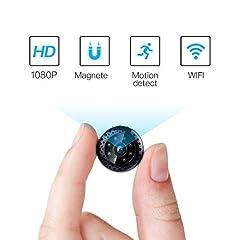 Idea Regalo - FREDI HD1080P WIFI telecamera Spia videocamera nascosta Microcamera Wireless Mini Camera spia microtelecamera wifi Hidden Spy Cam Videocamera di sorveglianza Interno IP telecamera di sorveglianza