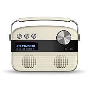 Saregama Carvaan Portable Digital Music Player (Porcelain White)