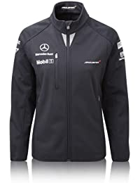 60% OFF McLaren Ladies Soft Shell Jacket F1 Womens XS M L XL RRP £119.95