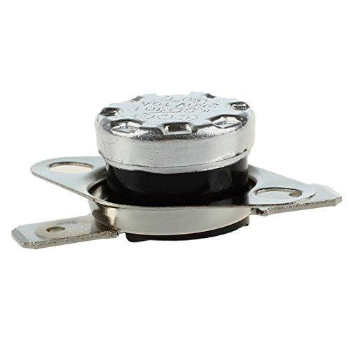 Cikuso 5 piezas interruptores termicos KSD301 de temperatura de termostato de cierre...