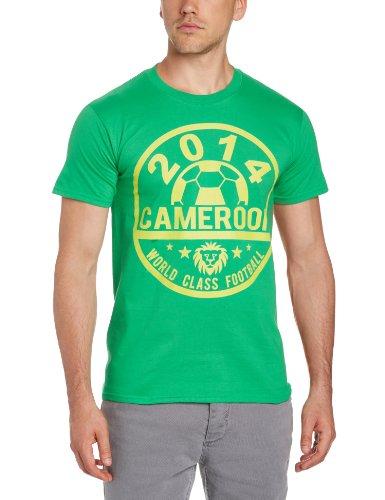Football Fan, Maglietta Uomo verde (Irish Green)