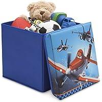 Aufbewahrungsbox Sitzhocker Sitzwürfel Sitzbox Truhe Sitzbank Hocker Faltbar Box Kiste Sitz Kindertruhe Spielzeugbox preisvergleich bei kinderzimmerdekopreise.eu