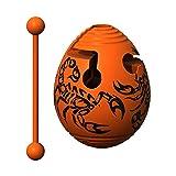 Smart Egg Scorpion - Puzzle 3D Labyrinthe et Jouet Éducatif pour Enfants, Niveau 10 d'une Série de Casse-Tête - Distraction et Défi à Résoudre Le Labyrinthe à L'Intérieur de L' Oeuf