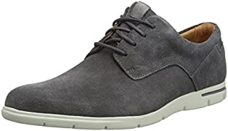 Clarks Vennor Walk, Scarpe Stringate Derby Uomo, Grigio (Grey Suede-), 43 EU (B0758JNGM9) | Amazon price tracker / tracking, Amazon price history charts, Amazon price watches, Amazon price drop alerts
