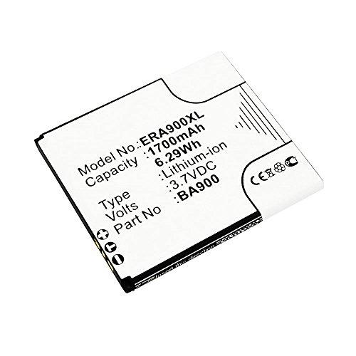 Batería para Sony Xperia E1 / M / J / L / TX (1700mAh) BA900
