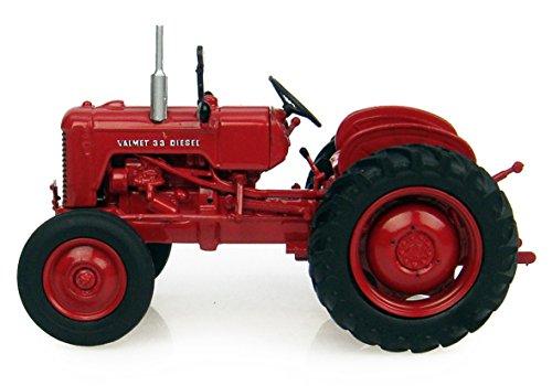 Universal Hobbies 6097 - Sammlermodell Valmet 33 Diesel Traktor 1/43 aus Metall