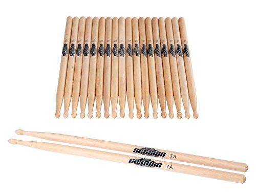XDrum Schlagzeug Sticks 5B Wood Tip 10 Paar