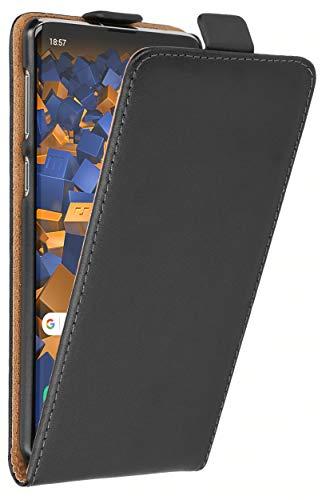 mumbi Flip Case Tasche kompatibel mit Samsung Galaxy S10, Klapphülle schwarz Flip Tasche Case