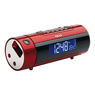 Akai ARP-140R Radio Réveil Projection 180° Double Alarme Rouge (B0044DBSXC) | Amazon price tracker / tracking, Amazon price history charts, Amazon price watches, Amazon price drop alerts
