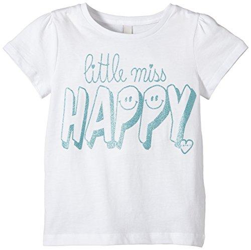 ESPRIT Mädchen T-Shirt aus Baumwolle, Gr. 128 (Herstellergröße: 128/134), Weiß (WHITE 100)