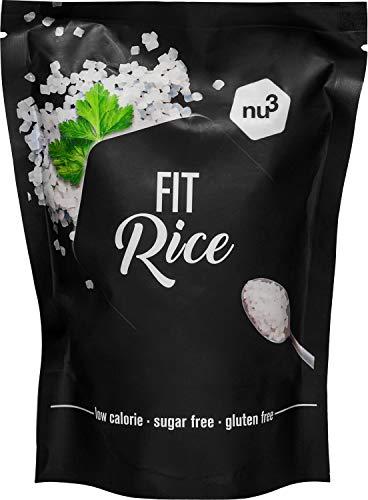 nu3 Riz de Konjac - 200g - Seulement 14 kcals par portion - Riz de glucomannane - Idéal pour la perte de poids lors d'un régime low carb (faible en glucides)