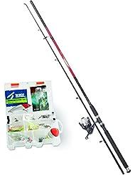 Zebco kit de pêche au brochet/sandre, 1545023 combo