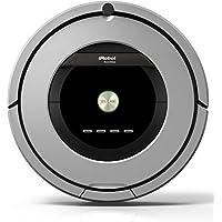 iRobot Roomba 886 aspiradora robotizada Sin bolsa Negro, Gris - Aspiradoras robotizadas (Sin bolsa