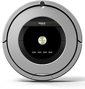 laminado ac: iRobot Roomba 886 aspiradora robotizada Sin bolsa Negro, Gris - Aspiradoras robo...