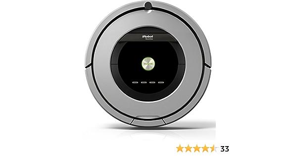 iRobot Roomba 886 – Robot aspirateur (Noir, Gris, sans