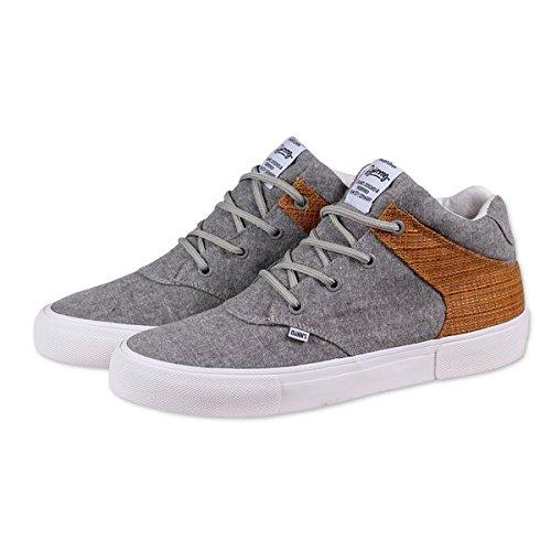 Djinns Herren Schuhe/Sneaker Chunk Oxybast Grau 40