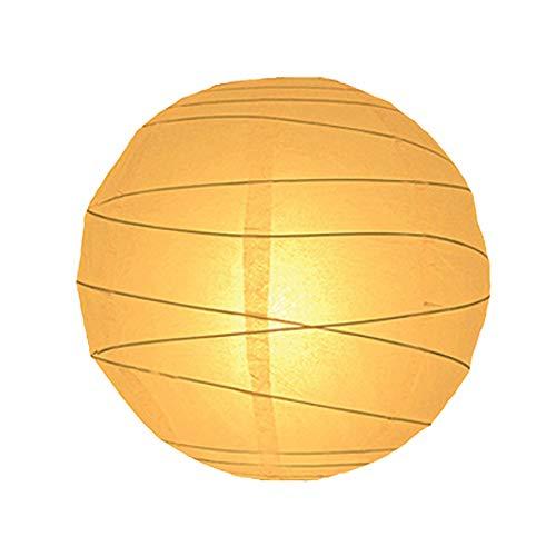 Lighting Web - Pantalla lámpara techo papel, 40,6