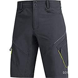 GORE WEAR Herren C3 Trail Shorts, black, L