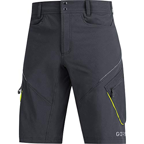 GORE WEAR Herren C3 Trail Shorts, black, M