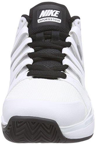 Nike - Zoom Vapor 9.5 Tour, Scarpe Sportive Outdoor Uomo Bianco (White/black-black)