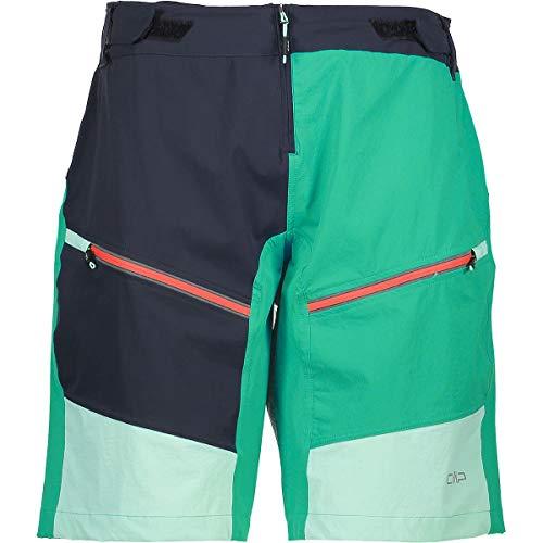 CMP Damen Freebike Shorts Hosen, Antracite-Mint, 40