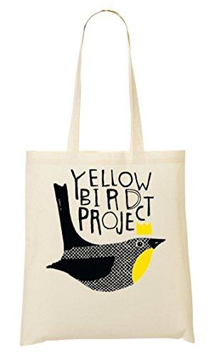 Yellow Bird Project Tragetasche Einkaufstasche (Bird Yellow Project)