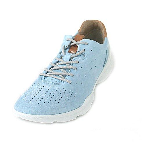 Ecco Damen Biom Street Sneaker, Blau (Indigo 3 Blue Lagoon), 38 EU (Street Ecco)