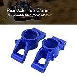 Porte-moyeu arrière en Alliage d'aluminium CNC pour Traxxas X-MAXX échelle 1/5 télécommandée Camion RC Accessoires de Voiture Bleu