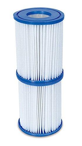 Bestway Flowclear Filterkartuschen Gr.II 10,6x13,6 cm, 2er-Set 2