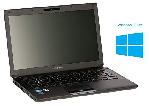 Toshiba Tecra R940 Notebook / Laptop | 14.1 Zoll Display | Intel Core i5-3340 @ 2,7 GHz | 4GB DDR3 RAM | 128GB SSD | DVD-Brenner | Windows 10 Pro (Zertifiziert und Generalüberholt)
