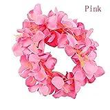 Artificial Flower Vine Silk Rattan Strip Wisteria Silk Garlands Romantic Decoration Party DIY Craft Wreath