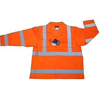 Arco Hi-Vis Polycotton X-LARGE Jacket Orange GO/RT EN471