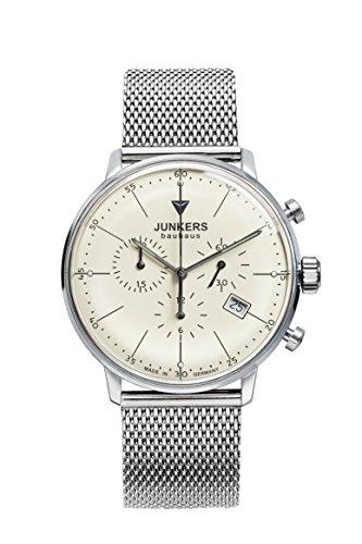 Junkers Herren-Armbanduhr Chronograph Quarz Edelstahl 6088M5