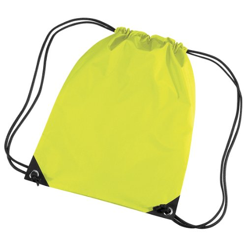 Bagbase Premium Turn Sack Wasser abweisend (11 Liter) Neon Gelb