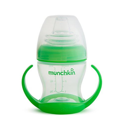 Munchkin Flexi Transition Cup, Green, 4 Ounce (Green)