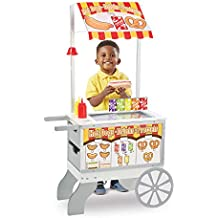 Melissa & Doug-19350 Snacks & Sweets Food Cart, Multicolor (19350) ,
