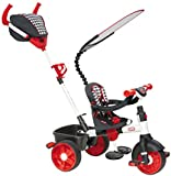 Little Tikes 4-in-1 Sports Edition Trike ( Red/ White)