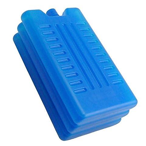 Lot de 3/6–Congélateur blocs–Une Utilisation avec sac isotherme pour plus de refroidissement–Rafraîchit et garde la nourriture au frais, , Lot de 3