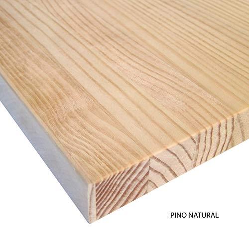 Holzbretter Kiefer Massiv. Natur, ohne Lack. Arbeitsplatten, Tischplatten, Möbel, Heimwerker. Größe zur Auswahl: (79 x 59 x 3 cm)