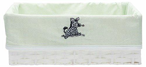 Bebe, Baby Möbel (bébé-jou 302455N Pflegekörbchen Dinkey Zebra kariert)