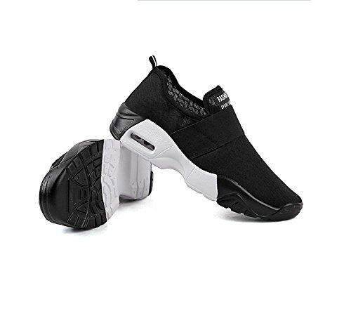 Printemps respirant sport chaussures couple chaussures casual chaussures Black