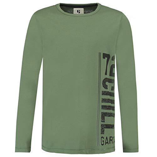 Garcia Jeans Jungen Shirt Langarm Multicolor (90) 140 - Jeans-jungen-shirt