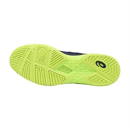 Asics Court Ff, Chaussures de Tennis Homme Bleu (Indigo Blue/safety Yellow)