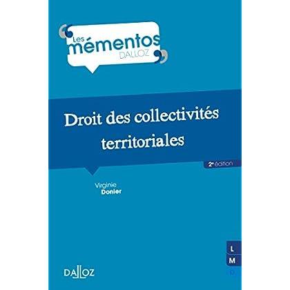 Droit des collectivités territoriales - 2e éd.